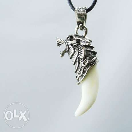 Wolf Tooth Necklace & pendants Domineering Courage الدورة -  3