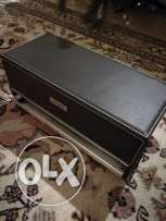 Leather CD , DVD automatic selector box
