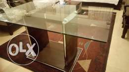 Dinning Table withchairs chairs طاولة سفرة
