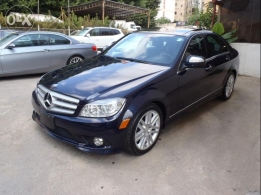 MERCEDES C300 ,2008 , look amg, panoramic roof