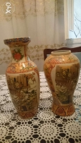 Two Chinese Vase, very old over than 100 years, Handmade still as new