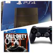 PS4 1T + Extra Controller + Call of Duty 3 Black Ops