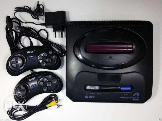 sega mega drive + built in games