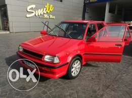 Toyota Starlet model 1986 for sale or trade