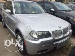 BMW X3 silver 2007 m package