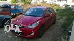 Hyundai accent 2012 . Very good condition only 60 000 km
