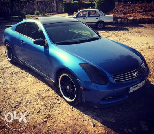 infinity g35 coupe mod 2003 technology verry clean car. الشوف -  2