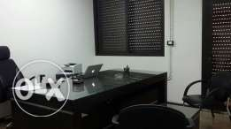 furnished office for rent in hazmieh