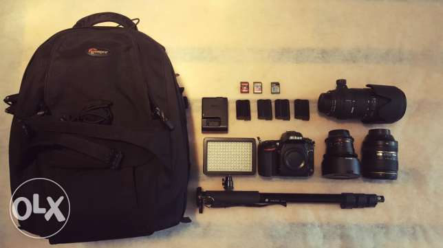 Nikon D750 Bundle For Sale