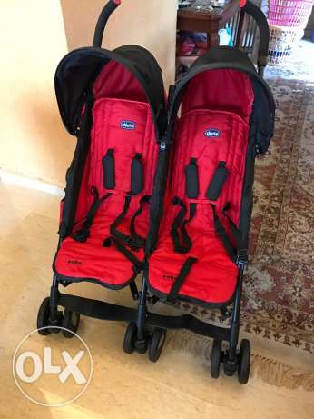 for sale chicco stroller for twins