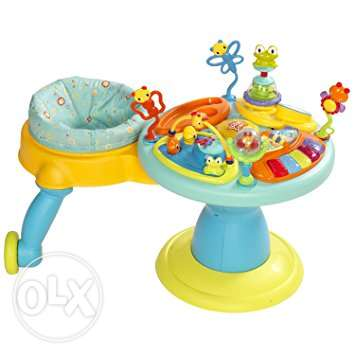 Baby/Toddler exercise toy. Bright Starts - Around we Go.