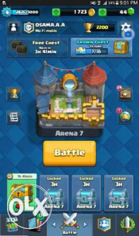 Clash royale level 7 arena 7