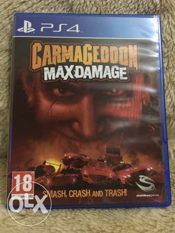 Carmageddon Max Damage for PS4 As If It's New!
