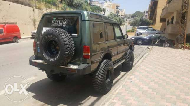jeep land rover discovery offroad mjahhaz