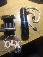 scuba diving flash light 100.000LL. price is not negotiable