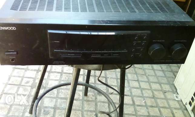 Receiver amplifier digital Kenwood