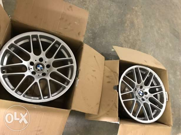 "Csl 19"" rims for bmw Made in taiwan"