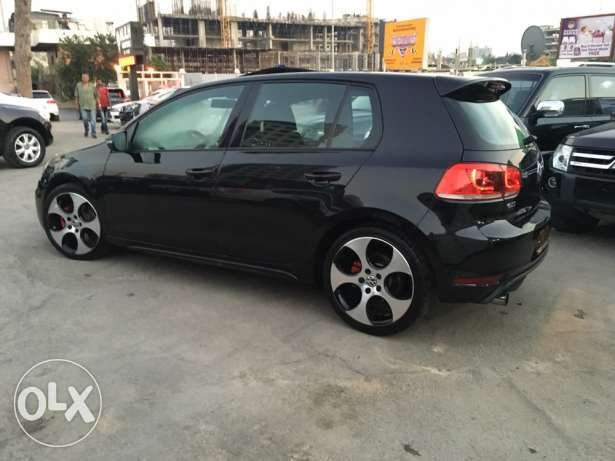 VW Golf VI GTI 2012 Black Fully Loaded in Excellent Condition! بوشرية -  5