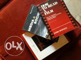 3 books about cinema and tv