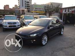 VW Sirocco 2.0T 2011 Black/Basket Top of the Line Like New!