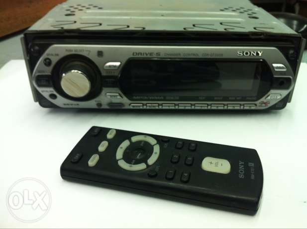sony cd /mb3 for car
