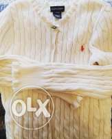 Ralph Lauren offwhite sweater for Girls
