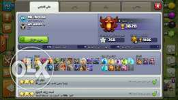 Clash of clans للتبادل