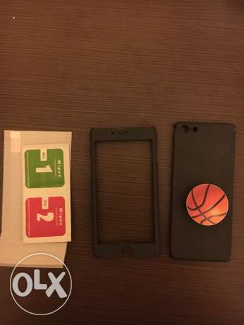 iphone 6/6S 360 cover+ pop socket