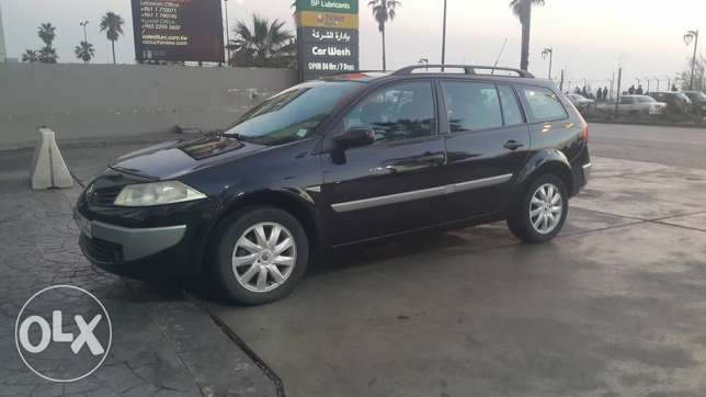 Renault Megane Full option/ Station 2007 بحالة شبه شركه Excellent cond