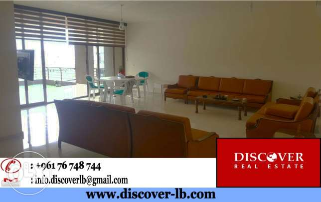 200sqm + 100sqm Terrace Apartment for Sale in Dbayeh