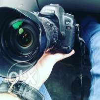canon 5D mark ll with lans 24 105