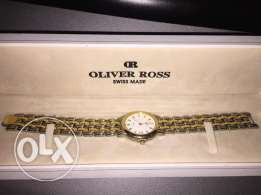 Oliver Ross Watch - 18K Gold 3M