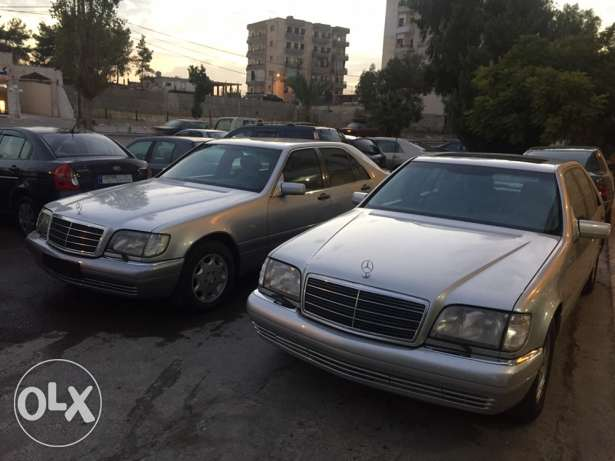 mercedes-benz s klass 320 model 1999 الغازية -  4