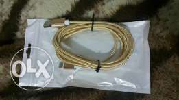 Charger cable 3.1 speed new original gold special edition 3m type C