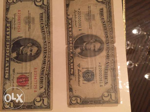 Old  bank notes for sale
