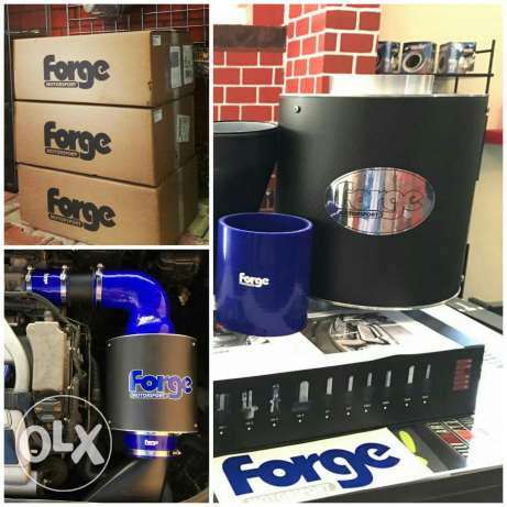 New Forge intakes induction system