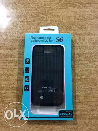 S6 phone charger case