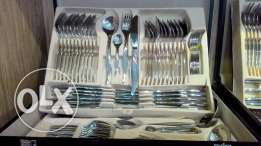 silver cutlery set very high quality for sale