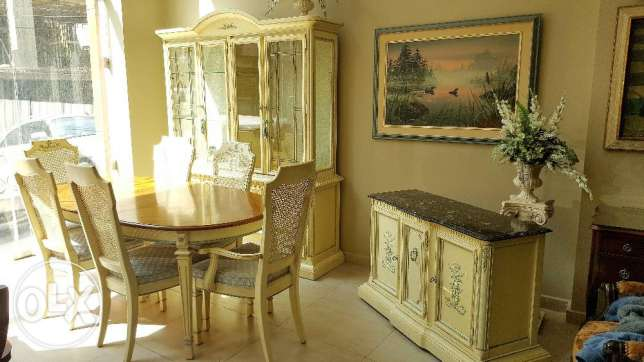 CANADIAN Furniture - French Provincial Dining Room