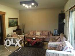 Ballouneh 200m2 - well maintained - sea and mountain view -