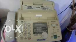 Fax and recorder machine