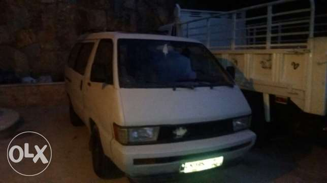 Toyota (Lite ace van) ma3melo wej ases abel lal ne2ash 2w lmo2ayad