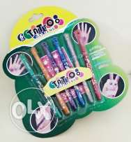 Tattoo gel pens
