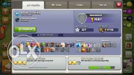 Clash of clans th 8 max