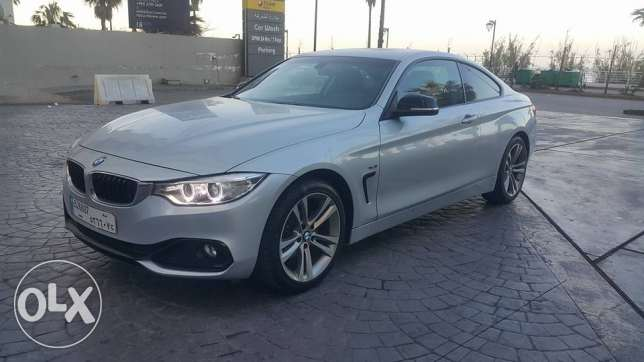 BMW 420//2016 Coupe S/Line مصدر الشركه only 15000KM still as brand new
