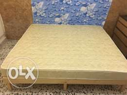 Bed & Sleep comfort for sale ( 160*200) used in a very good condition