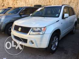 suzuki Grand Vitara 2008 white V6 full technology 4x4
