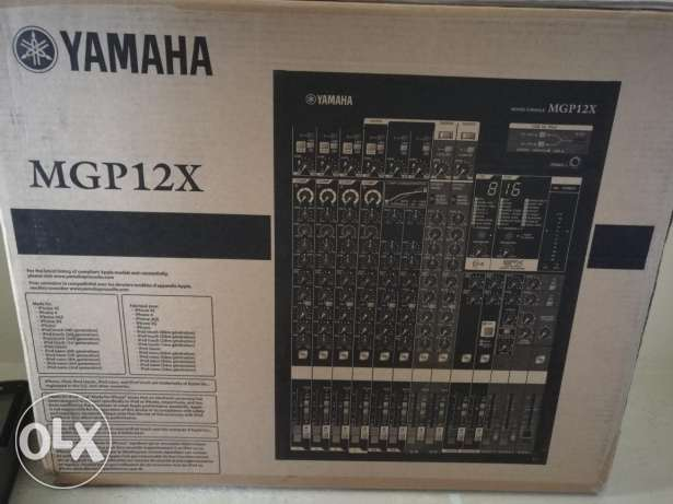 Mixer yamaha new MGP12X double effect
