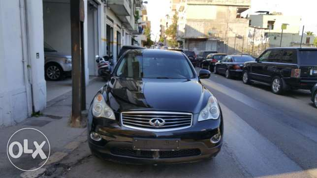 2008 Infiniti EX 35 AWD Technology Black/Black Leather Company Source