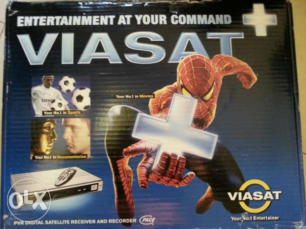 Viasat satelite receiver and recorder